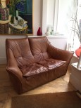 Leather Sofa by Gererd van den Berg for Montis