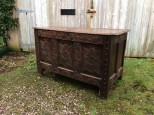 Antique Westcountry Oak Coffer