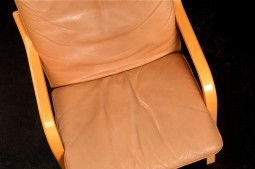 Pair of Danish Leather Armchairs - Very Comfortable