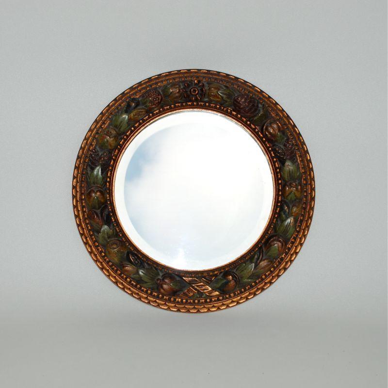 1930s Round Barbola Mirror Mirrors Apollo Antiques