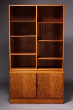 Danish Rosewod Bookcase by Aage Hundevad