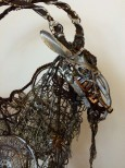 "Sculpture - ""Mouli"" the Goat by Artist Richard Dawson-Hewitt"