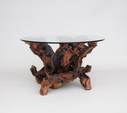 Unusual Yew Root Coffee Table
