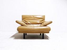 Alanda Leather Suite by Paolo Piva for B&B Italia, Sofas and Armchair